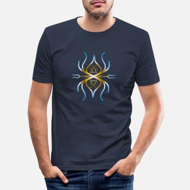New Age New Age Symbol - Männer Slim Fit T-Shirt