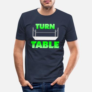 Turn Table Turn Table - Men's Slim Fit T-Shirt