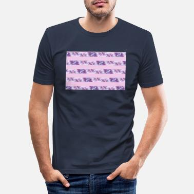 Lila lILAS - T-shirt moulant Homme