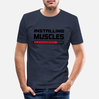 Installation Installer des muscles Installer Muscle Gift - T-shirt moulant Homme