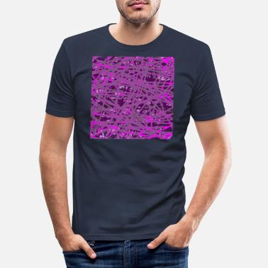 Lila Lila - Männer Slim Fit T-Shirt