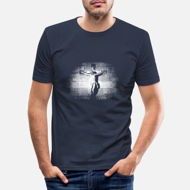 Crucifixion Jesus crucifixion - Men's Slim Fit T-Shirt