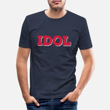 Idol idol - Slim fit T-shirt mænd