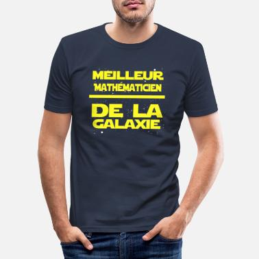 Maths Mathe maticien - T-shirt moulant Homme