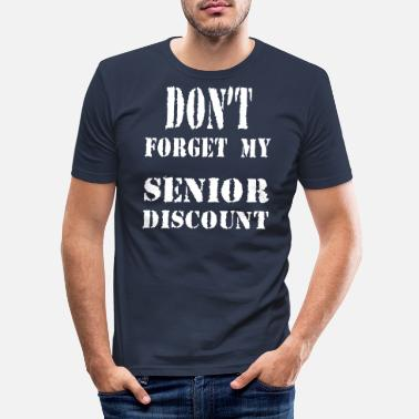 Korting SENIOR KORTING - slim fit T-shirt