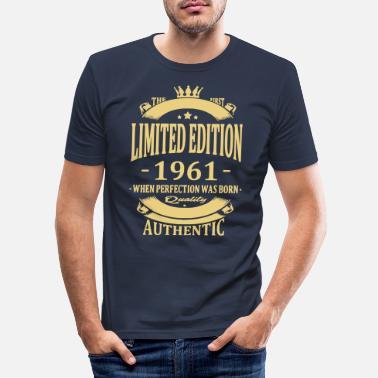 Birthday Limited Edition 1961 - Men's Slim Fit T-Shirt