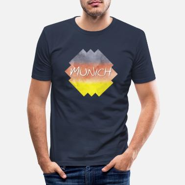 Munich Munich - Munich - Men's Slim Fit T-Shirt