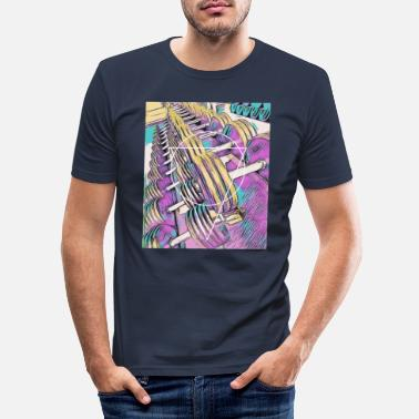 Abstract Fitness / gym / workout - Men's Slim Fit T-Shirt
