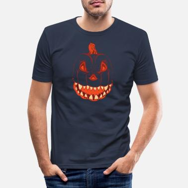Pumpkin Pumpkin - pumpkin - Men's Slim Fit T-Shirt