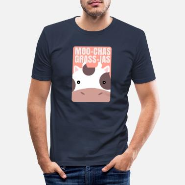 Muh Muh cow - Men's Slim Fit T-Shirt