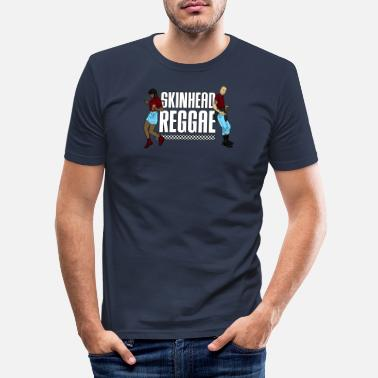 Skinhead Skinhead Reggae graphic - Traditional Skinhead - Men's Slim Fit T-Shirt