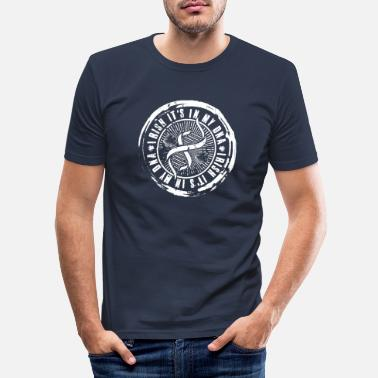 Irish Contest Irish It's My Dna - Miesten slim fit t-paita