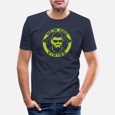 New Age NEW AGE VIKING Green - Männer Slim Fit T-Shirt