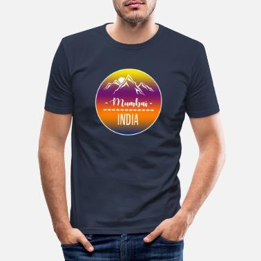 Mumbai Mumbai India - Men's Slim Fit T-Shirt