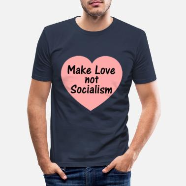 Social socialism - Men's Slim Fit T-Shirt