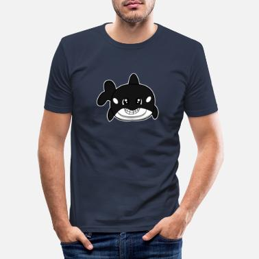 Grote Orka Grote orka - Mannen slim fit T-shirt