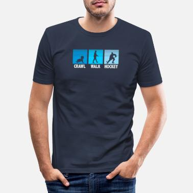 Hockey Hockey - Männer Slim Fit T-Shirt