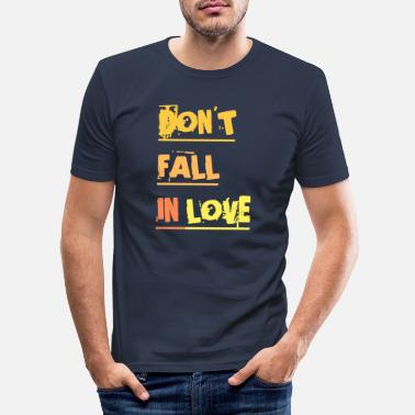 Schleswigholstein DON'T FALL IN LOVE - T-shirt moulant Homme