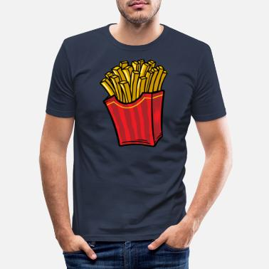 Frieren Fries - Männer Slim Fit T-Shirt