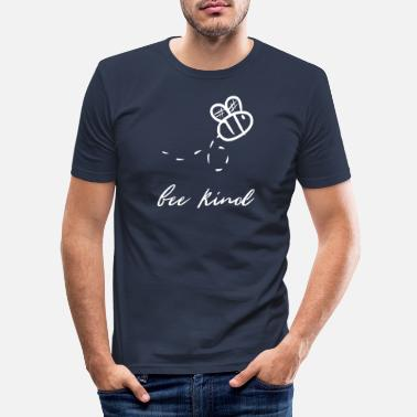 Bee Bee bees bee kill bee bee bee - Men's Slim Fit T-Shirt
