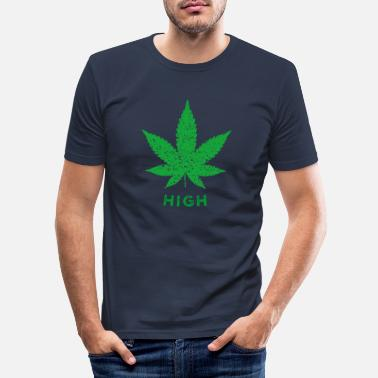 Gras High Gras - Männer Slim Fit T-Shirt
