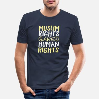 Human Rights Muslim Rights Are Human Rights - Men's Slim Fit T-Shirt