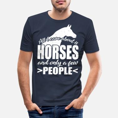 Expression Prix Cheval - T-shirt moulant Homme