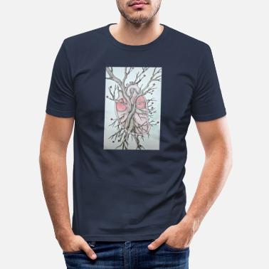 Corazon Corazon - Männer Slim Fit T-Shirt