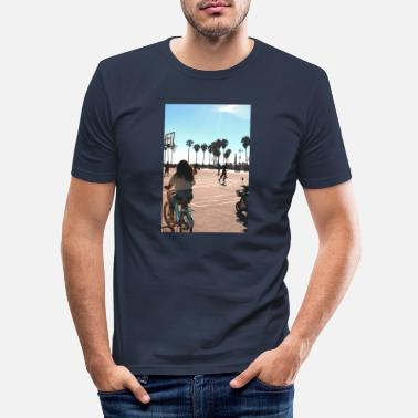 Los Angeles poster2 - T-shirt moulant Homme