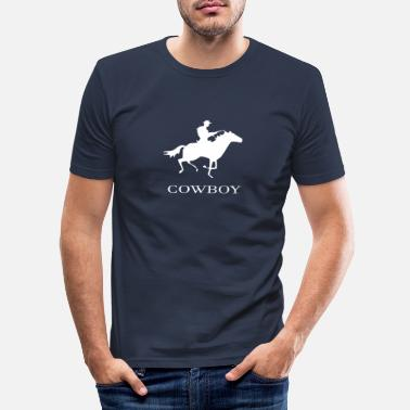Cowboy cowboy - Men's Slim Fit T-Shirt