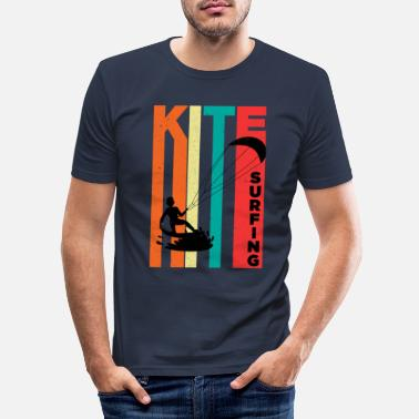 Kite Surfers Kite Surfen Kite Kite Surfer Surfen Gift - Mannen slim fit T-shirt