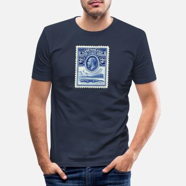 Stamp Stamp - Men's Slim Fit T-Shirt