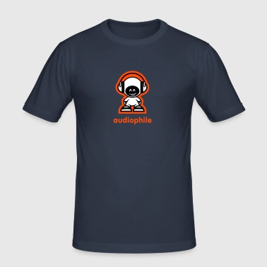 audiophile - Männer Slim Fit T-Shirt