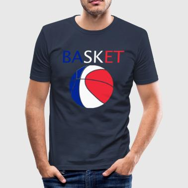 basket - Slim Fit T-shirt herr