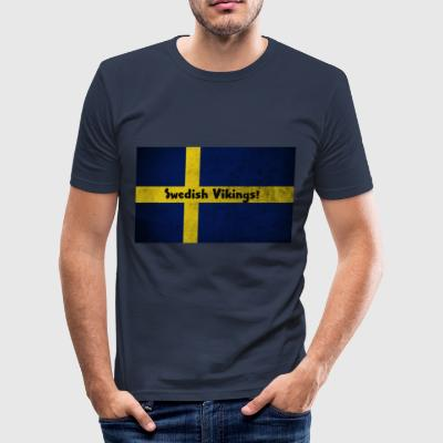 Zweedse Vikingen - slim fit T-shirt