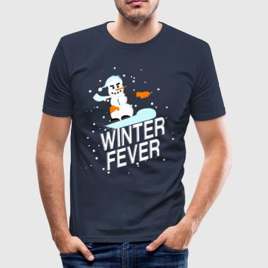 winter Fever - slim fit T-shirt