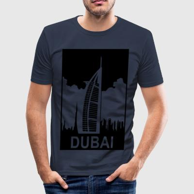 DUBAI - Männer Slim Fit T-Shirt