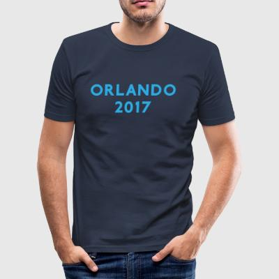 ORLANDO 2017 VACATION TEE - Tee shirt près du corps Homme