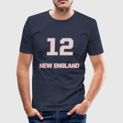 New_England - Herre Slim Fit T-Shirt