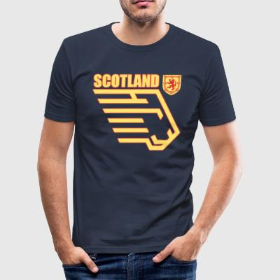skottland - Slim Fit T-shirt herr