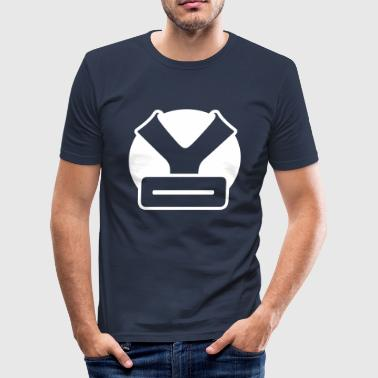 YO HEAD - Slim Fit T-shirt herr