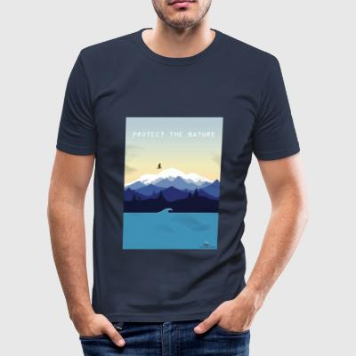 Protect Nature - Men's Slim Fit T-Shirt