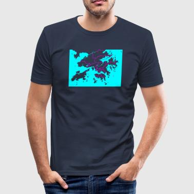 Hong Kong - Männer Slim Fit T-Shirt