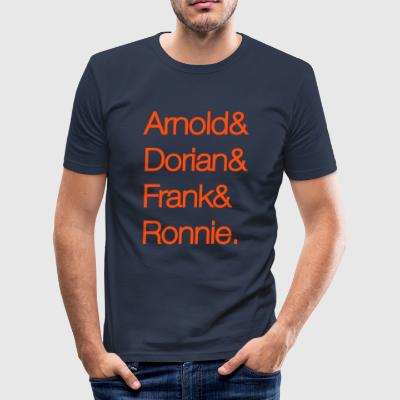 arnold dorian frank ronnie - slim fit T-shirt