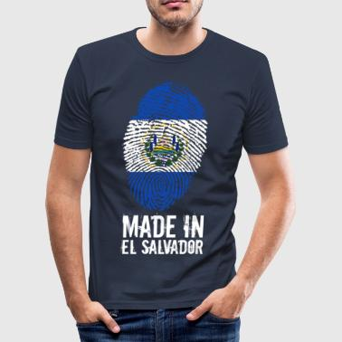 Made In El Salvador - Men's Slim Fit T-Shirt