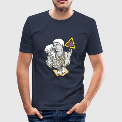 Statue swag - Männer Slim Fit T-Shirt