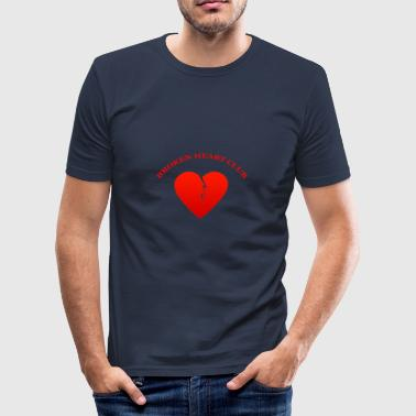 Broken Heart Club - slim fit T-shirt