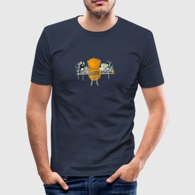 PRODUCENT - (At Work) - Slim Fit T-shirt herr