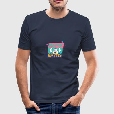 Easter Happy Easter Bunny - Men's Slim Fit T-Shirt