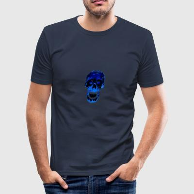 Blue Death - slim fit T-shirt